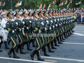 解放军在白俄罗斯明斯克的阅兵视频