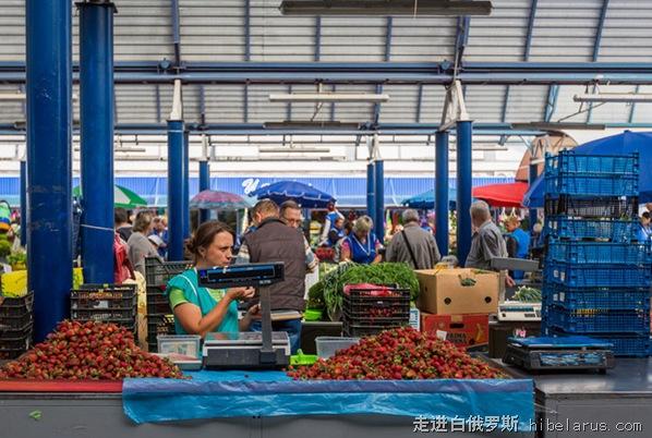 明斯克菜市场2
