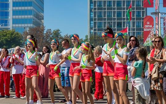 白俄罗斯独立日美女27