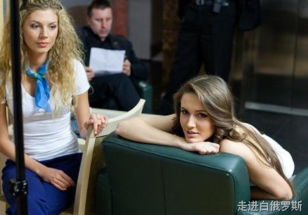 白俄罗斯小姐选美的台前幕后