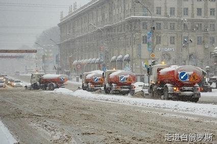 白俄罗斯的冬天