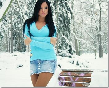 白俄罗斯冬天