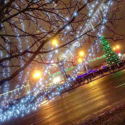 白俄罗斯新年,来自首都明斯克视频