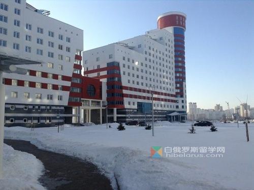 白俄罗斯音乐学院和明斯克外国语大学宿舍照片