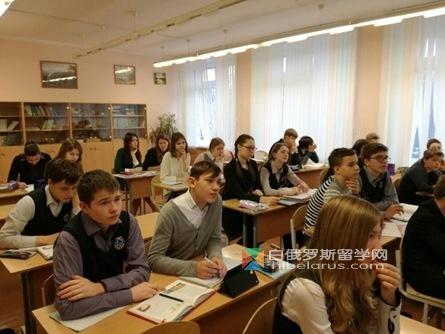 白俄罗斯国立师范大学自然科学系学生实践活动