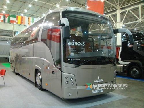 白俄罗斯造公交车畅销俄罗斯 占据市场第三位