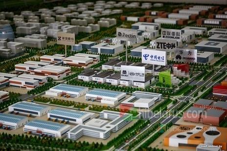 """白大使:中白""""巨石""""工业园为白俄罗斯的香港"""