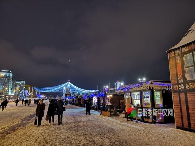 2019年白俄罗斯首都——明斯克新年前夕画面分享