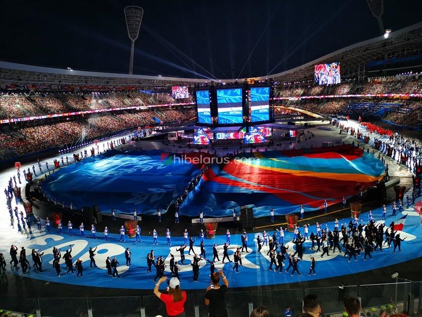 走!带你去看2019年白俄罗斯举办的欧洲运动会开幕式(高清大图)