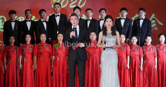 2020年中国留学生新年音乐会和白俄罗斯新年科普