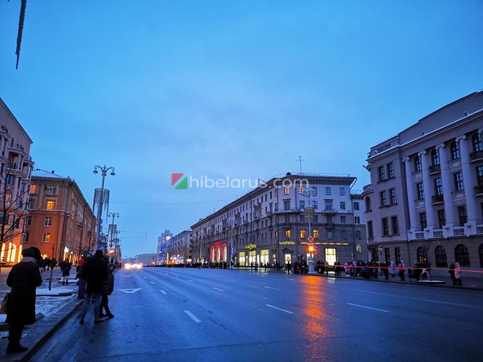 2020年白俄罗斯新年圣诞节庆巡游活动(现场照片)