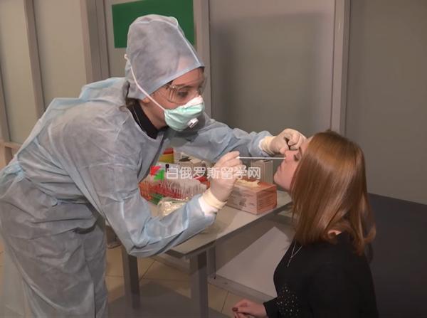 冠状病毒疫情下的白俄罗斯